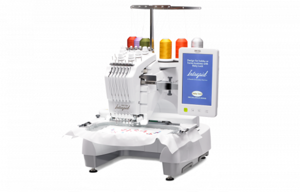 Intrepid 6 Multi Needle Embroidery Machine by Baby Lock